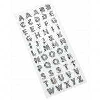 Glitter Letters - Silver