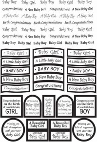 Baby Foil Captions