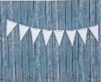 Bunting Pack White