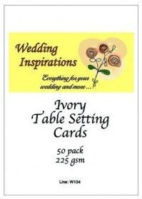 Table Setting Cards