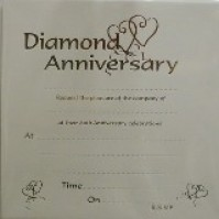 Diamond Wedding Invitation