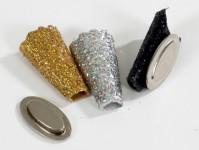 Glitterati Cone Black - Gold - Silver