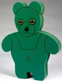 Foam Frame Standing Teddy Bear