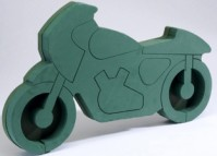 Foam Frame Motorcycle