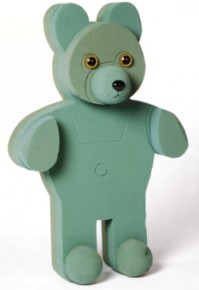 Foam Frame Raised Shape Standing Bear