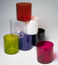 Acrylic Designer Cylinders