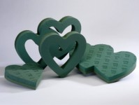 Foam Frame Hearts
