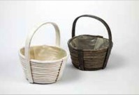 Round Olympus Basket with Handles
