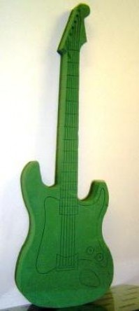 Foam Frame Electric Guitar
