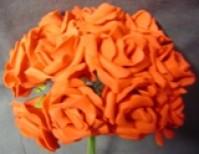 Foam Rose - Mini Bud - Red