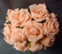Foam Rose - Mini Bud - Pink