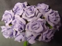 Foam Rose - Mini Bud - Lavender