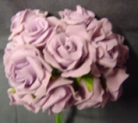 Foam Rose - Mini Bud - Lilac