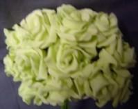 Foam Rose - Mini Bud - Mint Green