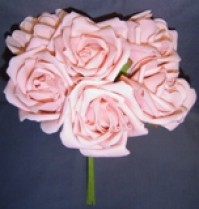 Foam Rose - Extra Large Bud - Pink