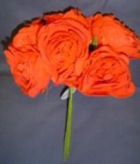 Foam Rose - Cabbage - Red