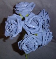 Foam Rose - Large Bud - Lilac