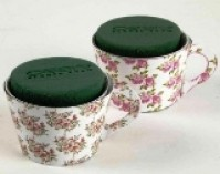 Floral Tea Cups - Packs of 6
