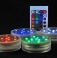 Aqua LED Base with Remote Control