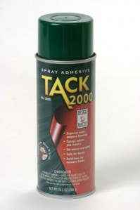 Oasis Tack 2000 Spray Glue