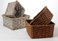 Square Willow Basket