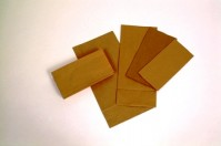 6 x 8.5 x 12 inch 3.5lb Brown Block Bottom - Pack of 250 Bags