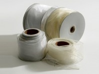 Wired Edge Organza Ribbon 4cm or 7cm x 25m