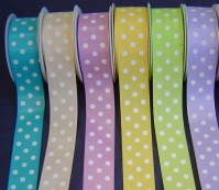 Polka Dot Satin - 38mm x 20m