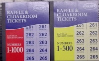 Raffle and Cloakroom Tickets