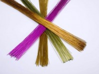 Metallic Paper Covered Wire Lengths 0-9mm x 50cm