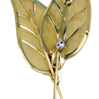 Gleaming Leaves - Gold - 1 Pack