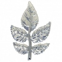 Rose Leaves - Silver - 1 Pack