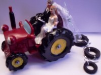 Cake Topper - Tractor