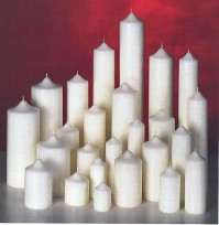 Chapel Candles - Ivory