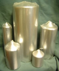 Chapel Candles - Silver