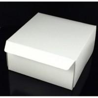 Cake Boxes - White Folding