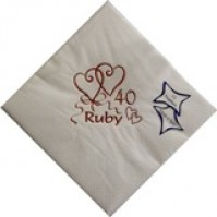 Wedding Anniversary Napkins