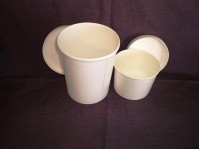Paper Soup Containers with Lids