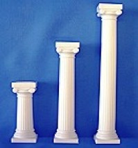 Grecian Pillars Plastic