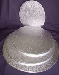 Cake Drums Oval - Silver