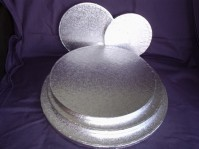 Cake Drums Round - Silver