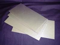 Silver Log Cards - Cut Edge