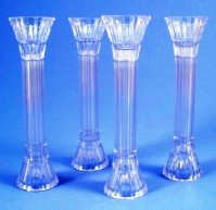 Clear Crystal Pillars Plastic