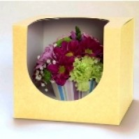 Floral Cupcake - Presentation Gift Box - Packs of 5
