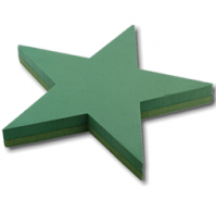 Foam Frame 5 Point Star