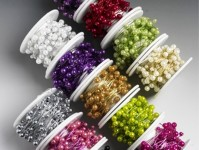 Pearls on a Reel 4 and 6mm Coloured Beads