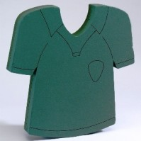 Foam Frame Football Shirt
