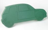 Foam Frame Modern Motor Car