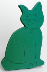 Foam Frame Cat