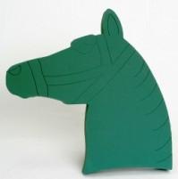 Foam Frame Horses Head